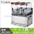 Double mixing system commercial slush machine