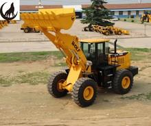 WOLF 3m3 bucket capacity 162kw 4WD big wheel loader ZL50