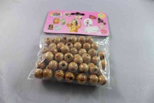 fashion wood loose beads magnetic balls for crafts