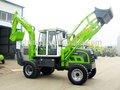 Hot mini 4wd agrícola/fazenda jardim tractor com carregador frontal e retroescavadeira com preço para venda na china