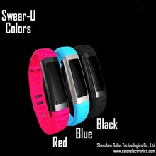 Smart Bracelet Smart Wrist Bluetooth 3.0 Watch/Music/Sleep Monitor/Pedometer/Time/Camera/Syncing Phonebook