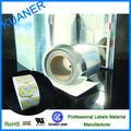 Desmontable autoadhesivo materia de papel etiqueta ,PP film brillo