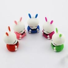 Wholesale cartoon cute rabbit shape 2g/4G/8G/16G/32G pendrive usb flash drive memory stick u disk