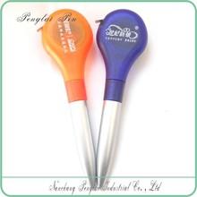 Imprinted Promotional plastic ball pen, ballpoint pen, gift tap measure pen