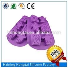 Silicone lego hand shape batman cake mold