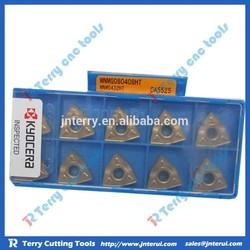 Kyocera carbide turning insert for cnc metal turning tools WNMG080408HT CA5525