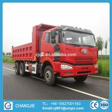 FAW 6*4 used dump truck for sale in dubai