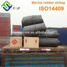 Marine ship airbags for batam shipyard