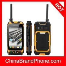 S9 Orange, Rugged Waterproof, Dustproof Walkie Talkie 3g and 2g Phone