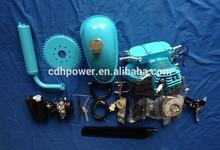 gas motor chopper bike / bycicle gas powered kit / motorcycle motor-bicicleta