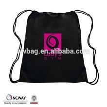 2015 polyester long strap shoe bag supplier,shoulder bag polyester backpack supplier,polyester drawstring backpack bag