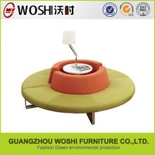 New design round corner leather sofas with great price
