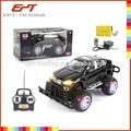 2014 populares brinquedos da criança 4 funcional grande roda de plástico do carro do rc