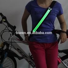 Green flashing USB charging safety horse riding equipment belt