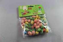 colorful diy wooden beads set wood bead electronic alarm clock crafts