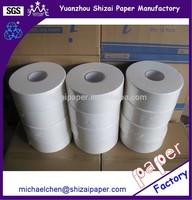 "9"" 300M 2 ply Jumbo Toilet paper, 8 rolls per carton"