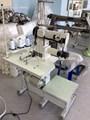 duplo agulha tubular braço curto do filtro de poeira saco superior einferior da máquina de costura