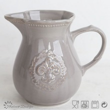 2015 hot selling embossed india tea pot copper