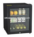 Bar mini geladeira mostrar/mini geladeira de vidro transparente porta/bar frigorífico barril de cerveja