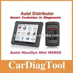 professional universal auto diagnostic tool autel maxisys mini ms905 with powerful Cortex-A9 quad-core processor