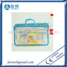 Wholesale ransparent cosmetic makeup clear pvc travel pouch