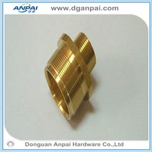 High precision OEM cnc brass parts chrome plated