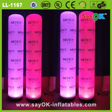 factory directly supplier inflatable pillar/column for party decoration