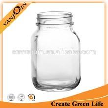 20oz Red Neck Glass Mason Jar No Handle
