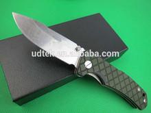 Green squares folding knife Blade Knife UDTEK01948