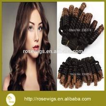 3bundles brazilian virgin hair weaves Human hair extension Natural 6A spring wave hair weaving Wholesale price Fast shipping