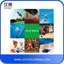 lasting long netball pvc sports floor
