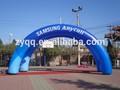 Arco de anúncio inflável, arco de publicidade, arco inflável