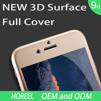 2015 Newest Full Fashion Full Cover Tempered Glass Screen Protector for iPhone 6 Glass Screen Protector 3D