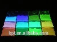 9 micron small particle size Orange light Electroluminescent EL phosphor