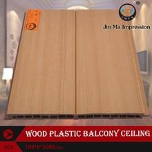 Wood Plastic Composite Pop Interior Ceiling Design for Meeting Room