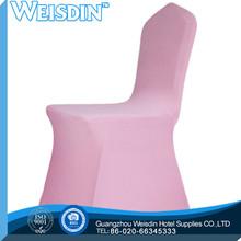 plain dyed hot sale organza spandex wedding chair cover and organza sash