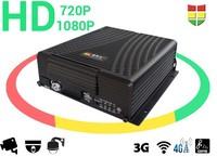 HD 720P 1080P H.264 Mobile DVR with 3G 4G WiFi G-SENSOR GPS Tracker