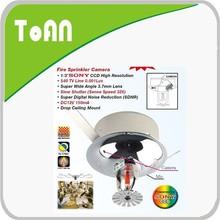 Toan TA-433 indoor use ceiling covert camera video audio cctv hidden cameras