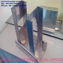 galvanized metal fence post
