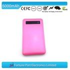 alibaba china polymer battery mobile power 5000 mah