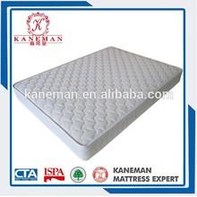 Bedroom furniture hot selling durable super king size compress spring mattress