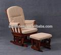 2014 cómodo sofá de relax silla con escabel