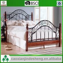 wholesale morden design bedroom furniture metal frame queen bed