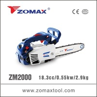 new products 18.3cc 0.55kW CE certificate chainsaw 22 inch bar 2-stroke for sale for wood carving
