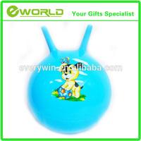 Promotional custom Unicorn plush hopper ball