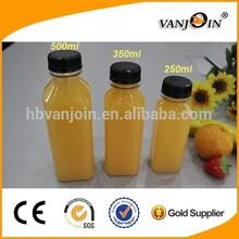 Juice Use and Beverage Industrial Use beverage pet bottle 500ml