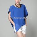 fast fashion ordem pequena de seda blusa chiffon branco clássico blusa