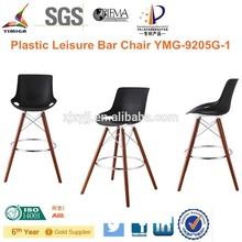 Black High Plastic Leisure Bar chair YMG-9205G