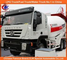 8cbm Hongyan Genlyon IVECO camion malaxeur à béton lourd Duty IVECO bétonnière camion IVECO 6 * 4 bétonnière camion