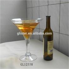giant long stem glass martini glass vase